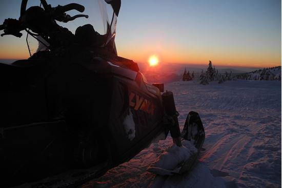 Obrázek Jízda na sněžném skútru  LYNX
